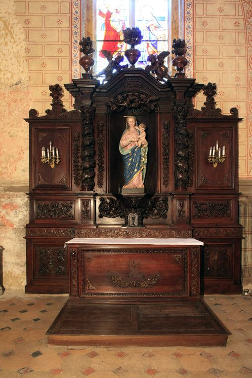 autel vierge